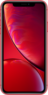 iPhone XR: Red