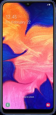 Galaxy A10 Dual SIM: Blue