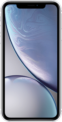 iPhone XR: White