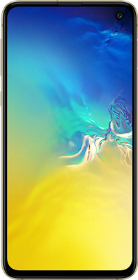 Galaxy S10e: Yellow