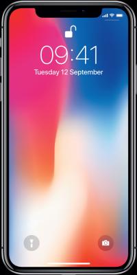 Apple iPhone X logo