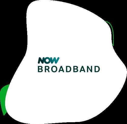 NOW Broadband logo