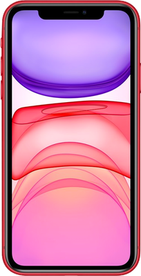 iPhone 11: Red
