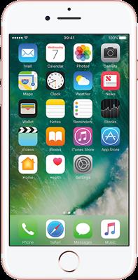 iPhone 7: Rose Gold