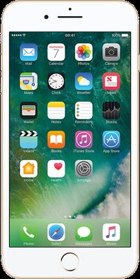 iPhone 7 Plus: Gold