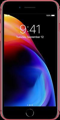iPhone 8 Plus: Red