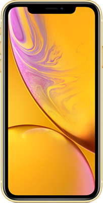 iPhone XR: Yellow
