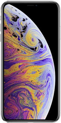 iPhone XS: Silver