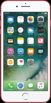 iPhone 7 Plus: Red