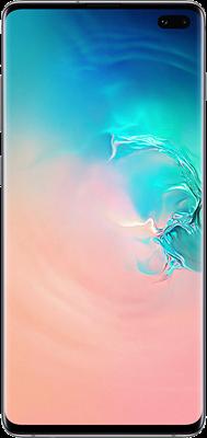 Galaxy S10 Plus: White