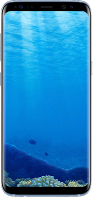 Galaxy S8: Blue