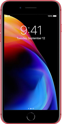 iPhone 8: Red