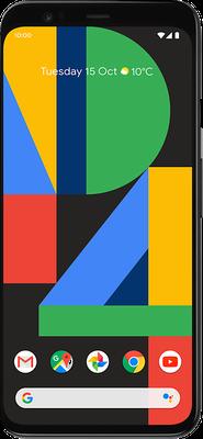 Pixel 4: Orange